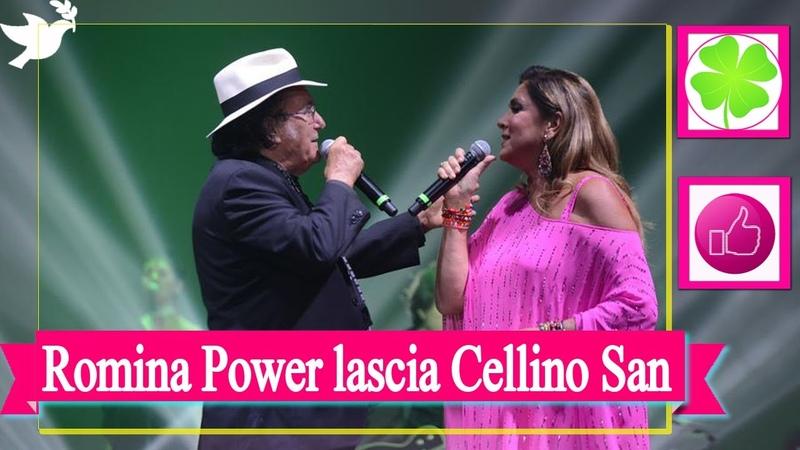 Addio Romina Power la cantante lascia Al Bano e Cellino San Marco