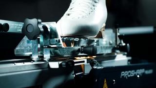 Figure skate sharpening on Prosharp® AS 2001 ALLPRO-SC