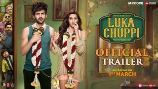 Luka Chuppi Official Trailer   Kartik Aaryan, Kriti Sanon, Dinesh Vijan, Laxman Utekar   Mar 1