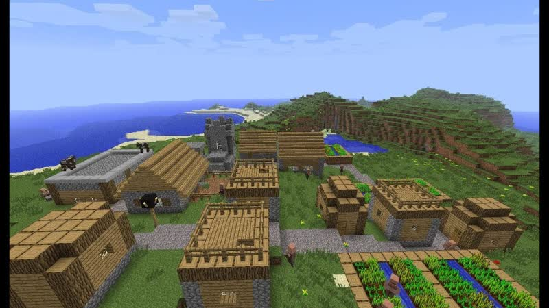 как разводить деревню в майнкрафт #7