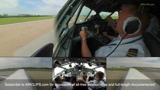 Amazingly LITTLE Climb Rate: Yakovlev Yak-40 Cockpit Takeoff from Minsk! [AirClips]