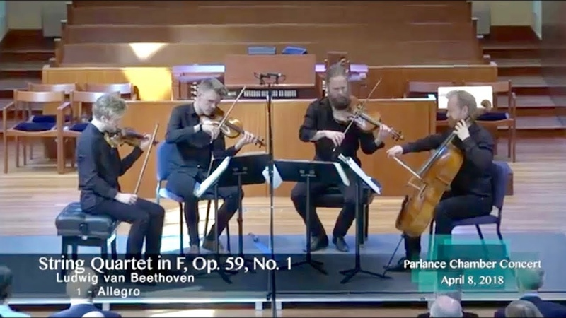 Danish String Quartet Beethoven's String Quartet in F Op 59 No 1