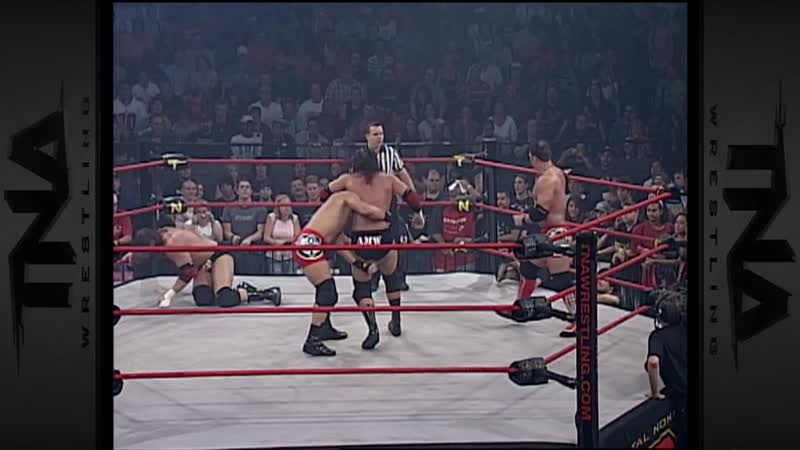 |WM| Эй Джей Стайлз и Кристофер Дэниелс против Джеймса Шторма и Криса Харриса - Sacrifice 2006