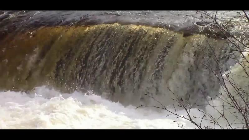 Водопад на реке Титовка 20 05 2018г