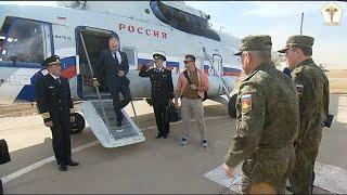 Верховный Главнокомандующий России посетил Кавказ2020 Putin visited Caucasus2020