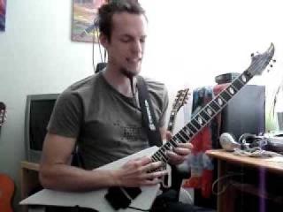 Caparison Orbit guitar solo