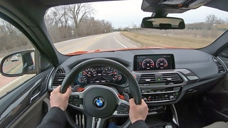 2020 BMW X4 M Competition - POV Test Drive (Binaural Audio)
