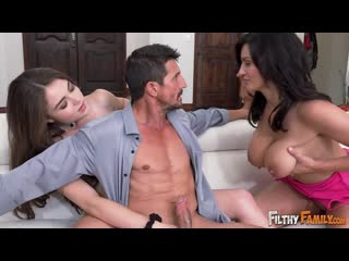 [filthyfamily] megan marx, becky bandini - family that fucks together, stays tog