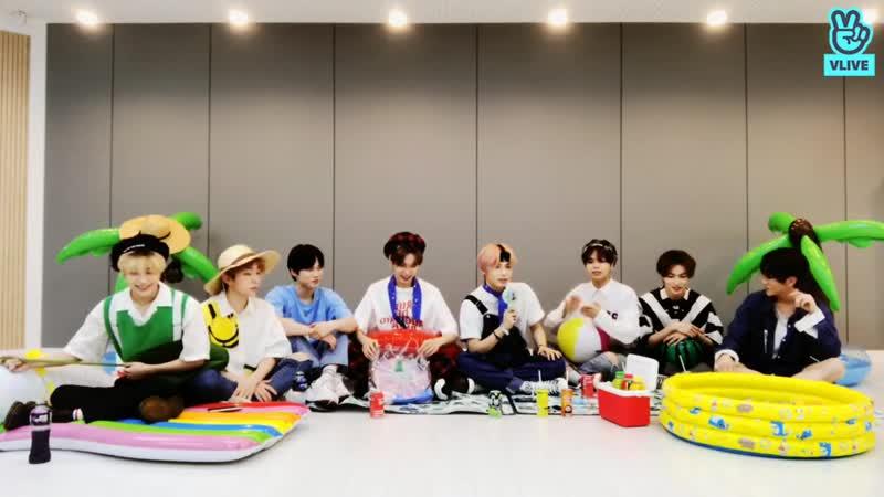 [04.09.2020] Сегодняшняя трансляция ребят в V Live .. Весь эфир 🥰 ⭐🏖엘라스트와 함께 하는 연콕 휴가🏖