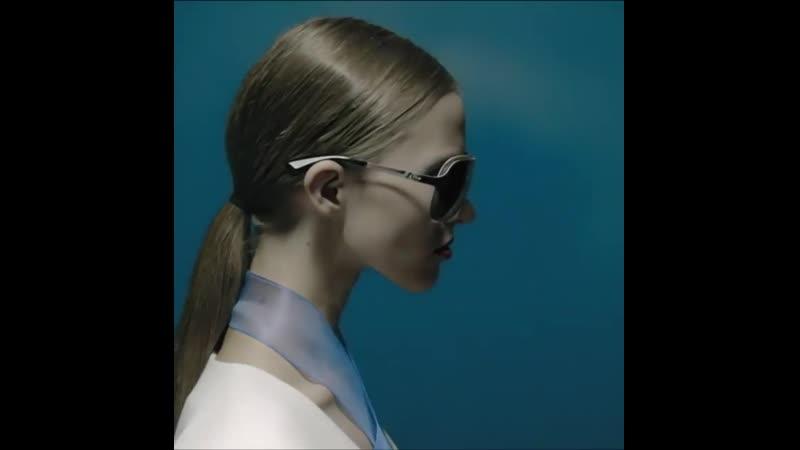 Саша Лусс Sasha Luss в рекламной кампании Dior Eyewear Cruise 2014