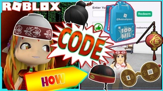 🆓 PROMO CODES AND HOW TO GET LIMITED LUOBU PACK 3! ROBLOX FREE ITEMS!