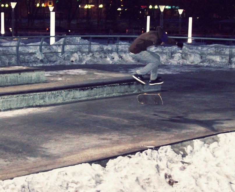 Экстрим-парк зимой (2013 год)