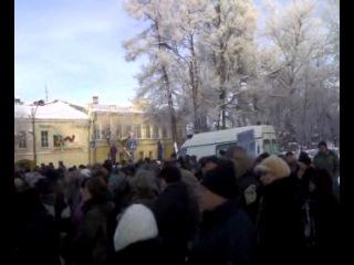 Жесть! В городе Новая Ладога хотят закрыть больницу! Митинг выражения протеста против закрытия больницы. Видео 2