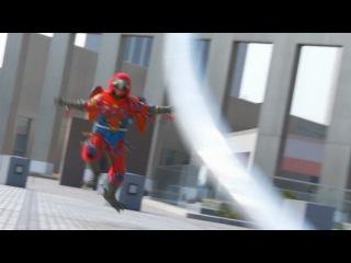 Kamen Rider OOO [HD] - Ep. 27 1000, Movie, Combatant