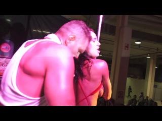 Live sex show public display franceska jaimes at the porn festival ficeb barcelona 2011