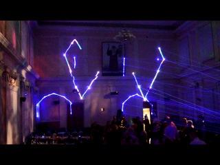 Новогодний сюрприз Лазерное шоу SpaceShow 28 12 12