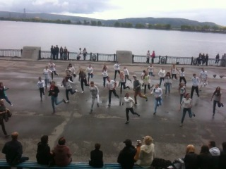 Флешмоб в Тольятти/ choreography by Elena Lokteva