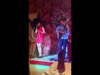 """Выступление талантливой певицы -  Alina Os в Солнечногорске в ресторане """"Кайф"""" 14 февраля 2014 года."""