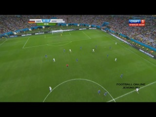 Германия - Аргентина. Финал. . Обзор матча
