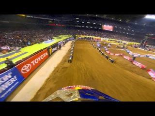 GoPro HD: James Stewart Main Event 2013 Monster Energy Supercross from St. Louis