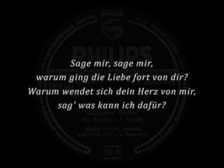 """Glaube mir"" [Walzerlied] (Winkler) Maria Mucke 1954 [HQ-78rpm]"
