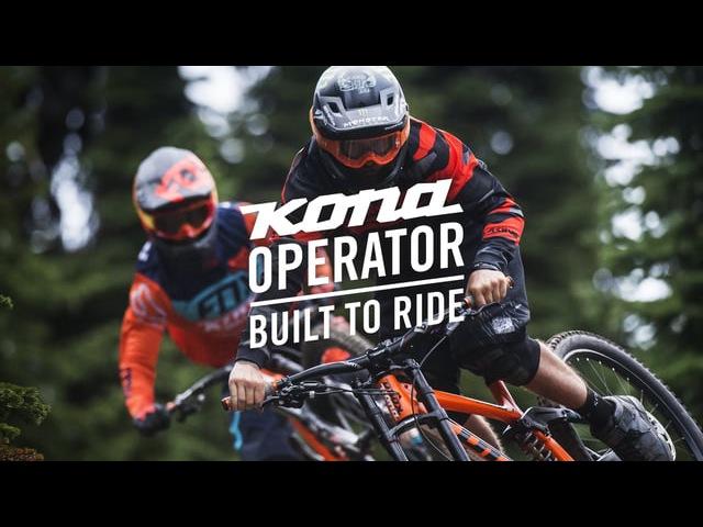 Connor Fearon and Graham Agassiz Rally the 27.5 Kona Operator at Retallack