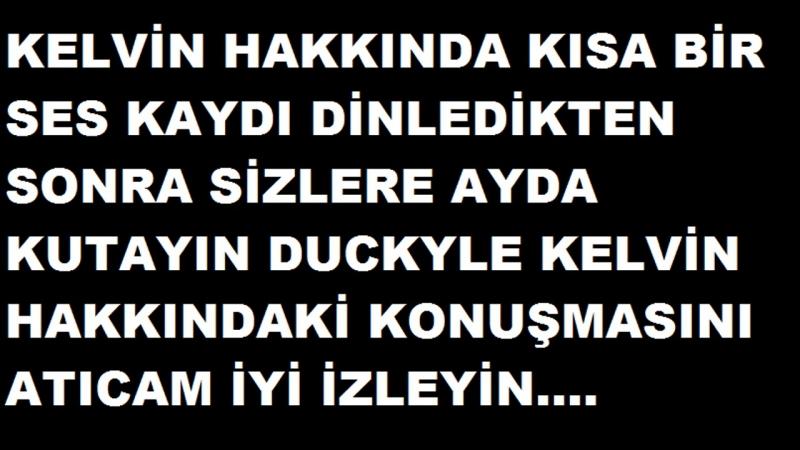 Kelvin - Yusuf Kayman (Bazen Sadece izlersin )