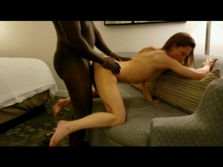 Tall skinny wife pounded by bbc to creampie interracial