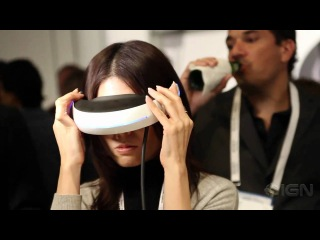 CES 2011: Sony 3D Head Mounted Display
