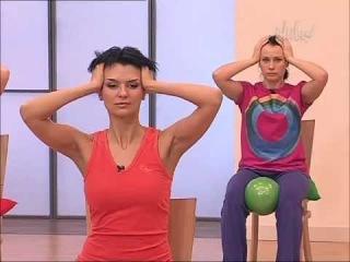 Гимнастика для лица:часть-16.Фитнес для лица- Тело,виски  Алёна Россошинская.
