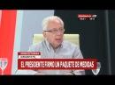 Es una operación financiera con la plata de los jubilados Jorge Altamira en Crónica