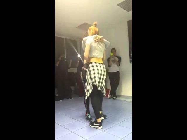 Sophie Fox and Lucero Huitron tarraxinha and body movement sensual dance kizomba