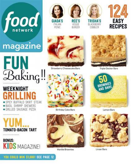 Food Network Magazine [September 2015]