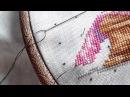 № Stitch бэкстич Счетный и дробный Мой опыт Уроки вышивания