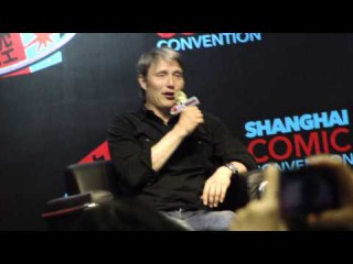 Mads Mikkelsen Q&A Day 2  Shanghai Comic Con SHCC 2015 (May 17, 2015)