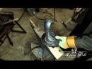 Fabrication d'armure médiévale Making of medieval armour 21