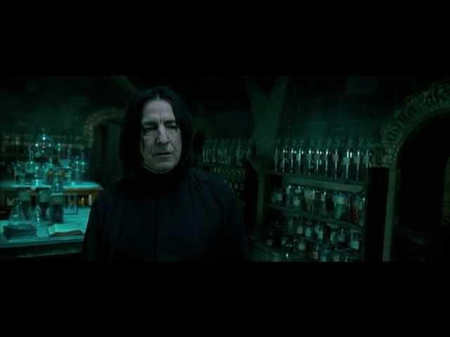 Severus Snape Swearing