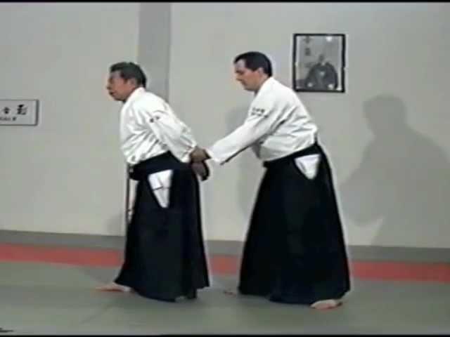 Morihiro Saito Sensei Ushiro Ryote Dori
