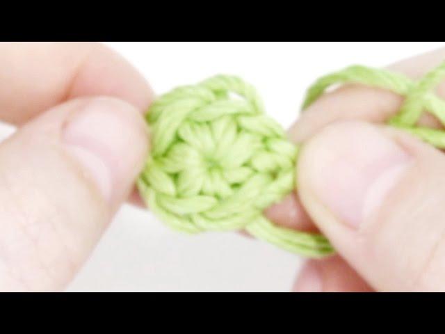 Кольцо амигуруми волшебное скользящее ♥ 7 урок от Эмили Фриман