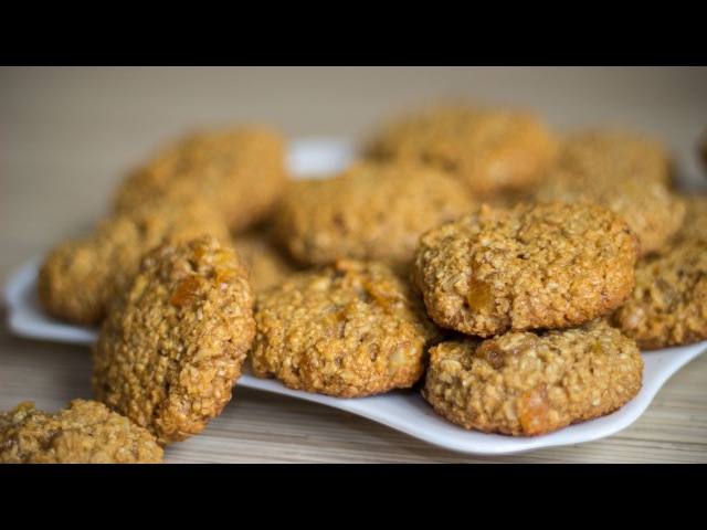 Постное Овсяное Печенье 🍪 Вегетарианское Печенье ☆ Ирина Кукинг