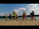 Zumba on the beach Zhytomyr Chucucha