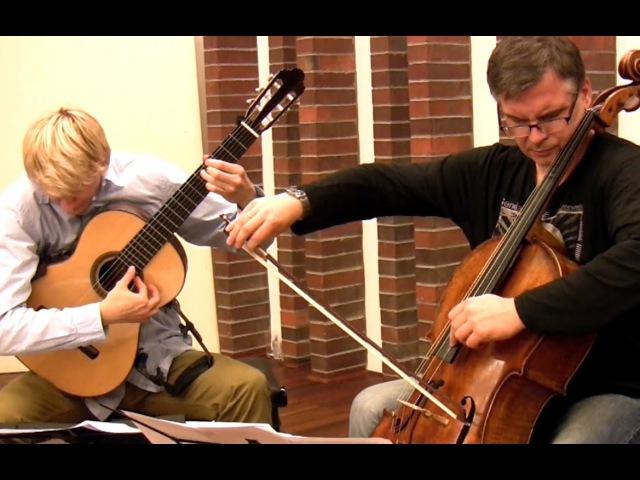 ANAMNESIS After Tōru TAKEMITSU for cello and guitar by Marek PASIECZNY feat Andrzej BAUER