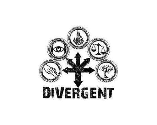 divergent symbol tattoo - 500×400
