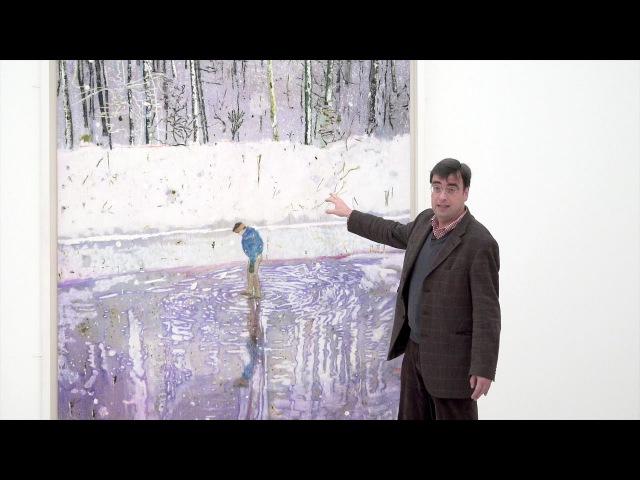 Rundgang durch die PETER DOIG Ausstellung mit Kurator Ulf Küster