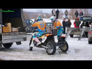 Мотокросс зимой | Мotocross winter