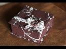Коробочка из картона Віолетта Палюга