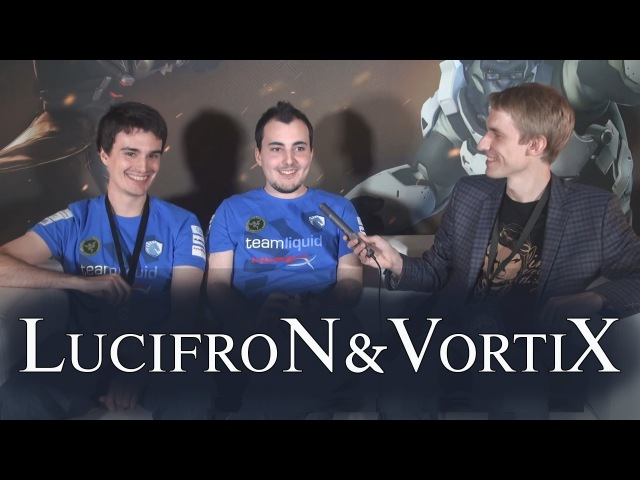 Интервью с LucifroN'ом и VortiX'ом С субтитрами