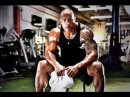 Dwayne Johnson Workout THE ROCK Workout 2015 The Rock motivation the rock in the gym 2015