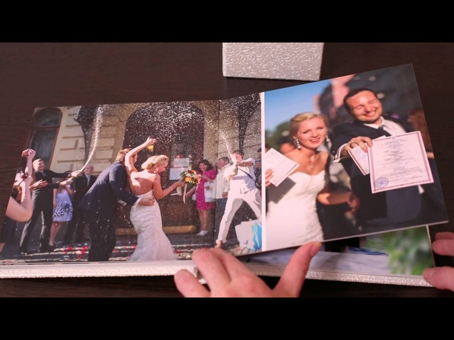 Фотокнига 20х20 см Наша Садьба Георгий и Валерия коробочка с флэшкой