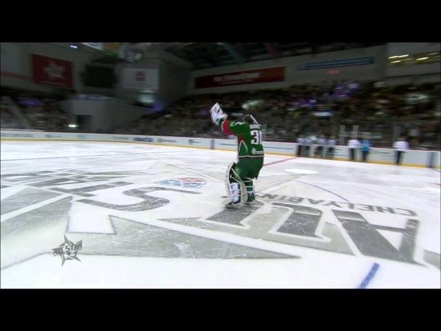 KHL All Star Танец Константина Барулина Barulin's Cotton Eye Joe